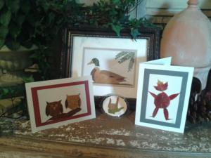 Smoky Mountain Leaf Works display at Sweet Peas & Ivy in Sevierville, TN