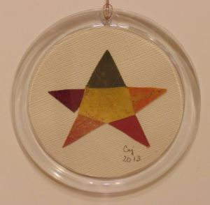 Patchwork Star Ornament